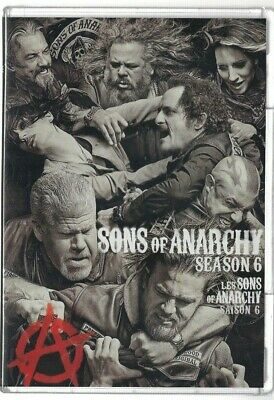 Sealed New DVD TV SHOW - SONS OF ANARCHY Season 6  - Also French