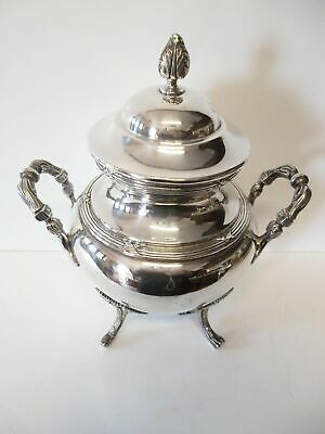 Antike Zuckerdose-versilbert-Frankreich?/antique silver plated sugar pot-France?