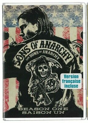 Sealed New DVD TV SHOW - SONS OF ANARCHY Season 1  - Also French