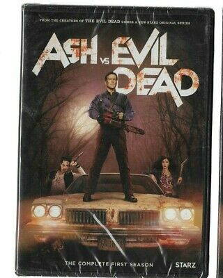 Sealed New DVD TV SHOW - ASH VS EVIL DEAD Complete Season 1 First