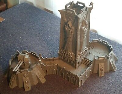 Tower Plinth Wall panel Games Workshop Fortress of Redemption