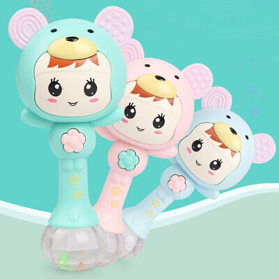 Stick Early Education Musical Rattle Baby Kids Teether Toy Learning Toddler