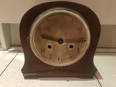 Old Coronet English Stricking Mantel Clock (not working) Made in England