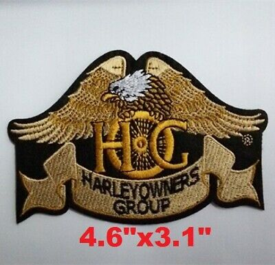 """Vest Jacket Eagle Claw New Patch Harley Owners Group HOG Patch Size 4.6""""x3.1"""""""