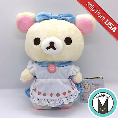 Japan San-X Rilakkuma Relax Bear Korilakkuma Alice in Wonderland Cute Plush Doll