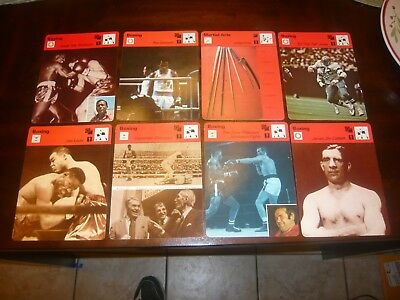 1978 1979 Sportscaster 8 Different BOXING COMBAT SPORTS Theme Ray Leonard