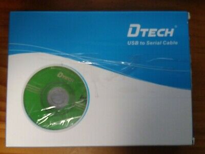 Dtech USB to Serial Cable Unused with Some Box Damage