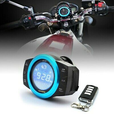 ABS Motorcycle Audio Stereo Speakers MP3 FM/TF/USB Sound System 12V Waterproof