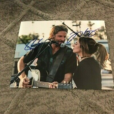 Bradley Cooper Lady Gaga Signed 8X10 Rare A Star Is Born Shallow Cool