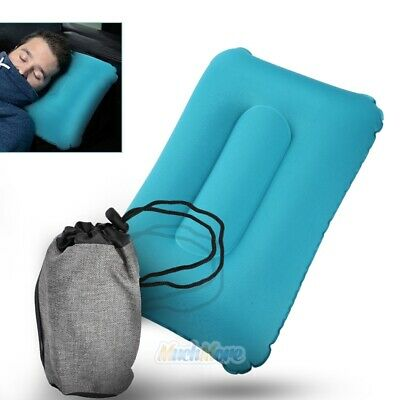 Inflatable Air Camping/Travel Pillow Ultralight Portable Backpacking TPU w/ Case