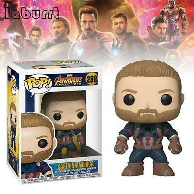 NEW! Funko Pop! Vinyl Marvel Avengers 3: Infinity War - Captain America