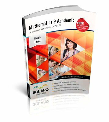 SOLARO Study Guide - Ontario Mathematics 9, Academic, Principles of Mathematics