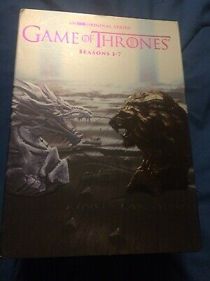 Game of Thrones: The Complete Seasons 1-7 DVD Box Set; USED