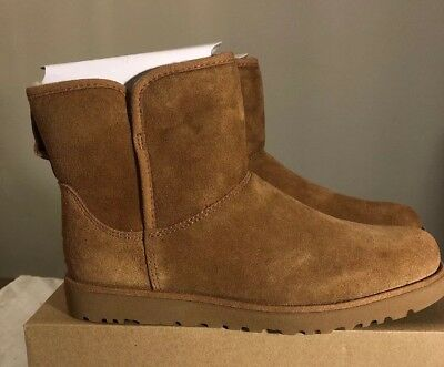 fb1a671a675 UGG WOMENS BLAYRE III Ankle Boot Leather Wool Lined Chipmunk Brown ...