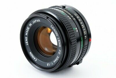 CANON New FD 50mm F/1.8 NFD MF Prime Lens [Excellent+++] From Japan [424]