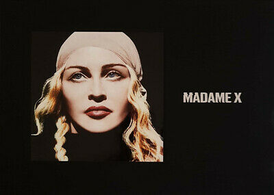 """MADONNA - MADAME X - DELUXE BOX 2 x CD / MC / 7"""" LP / BOOK / POSTER NEW & SEALED"""