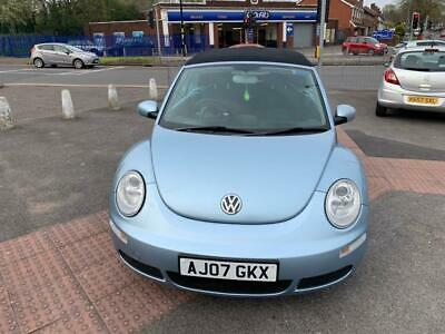 2007 Volkswagen Beetle 2.0 Cabriolet 2dr Petrol Automatic (222 g/km, 115 bhp)