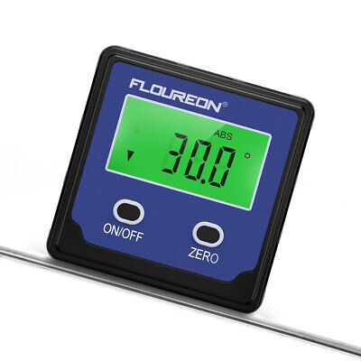 4*90° LCD Digital Inclinometer Level Box Protractor Angle Finder Bevel Gauge NEW