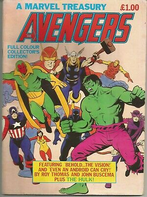 Avengers : Vintage Marvel Treasury Edition comic from 1982