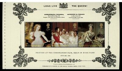 2019 Long live the Queen Sheet Victoria Prestige Book
