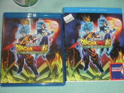 Dragon Ball Super: Broly Anime Movie Blu-ray/DVD/Digital Combo,  2019