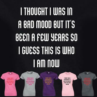 Women Top I Through I Was T-shirt Inspired Present Gift Ladies Tee Standard