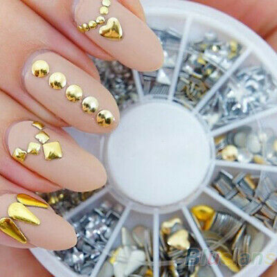 Nail Art Strass Rondella - Borchie Base Strass 6 Forme #N6