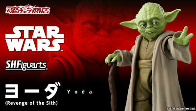 2019 BANDAI S.H.Figuarts YODA Figure STAR WARS Revenge of the Sith