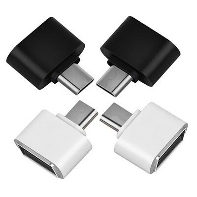 USBC Typec /Micro USB Male to USB 2.0 Female Adapter Connector For Android Charm