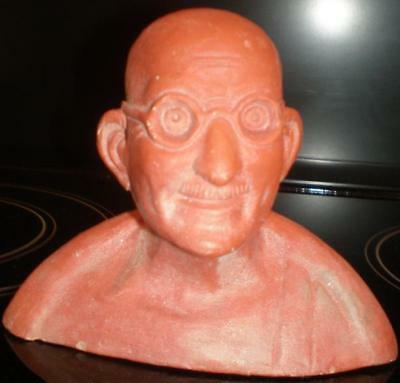 Latex Mould for making unusual ghandi candle/ornament