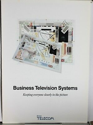 """Vintage Post Office Telecoms - """"Business Television  Systems"""""""