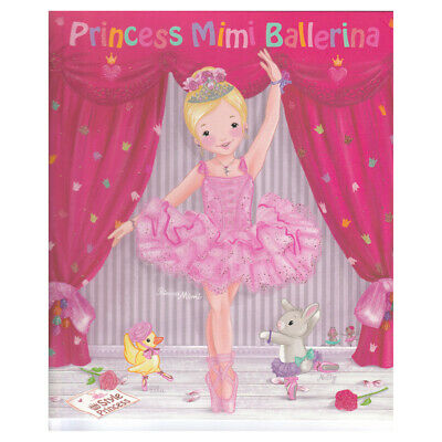 PRINCESS MIMI BALLERINA Colouring Book by Depesche £9.99