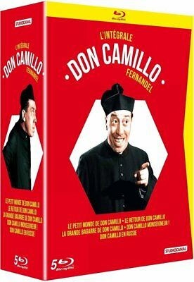 Coffret Don Camillo Integrale Fernandel Blu Ray Neuf Sous Cellophane