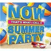 Now That's What I Call a Summer Party (2015) cd various artists new free uk post