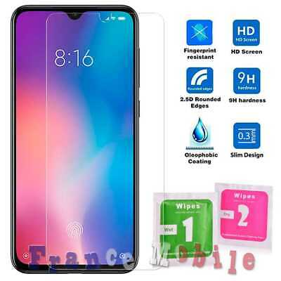 Flat Tempered Glass 2.5D 9H Screen Protector Cover for Xiaomi Mi 9 SE 0.3 Clear