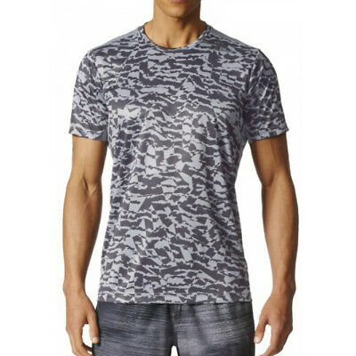ADIDAS FREELIFT CLIMACOOL Graphic Mens Short Sleeve Training