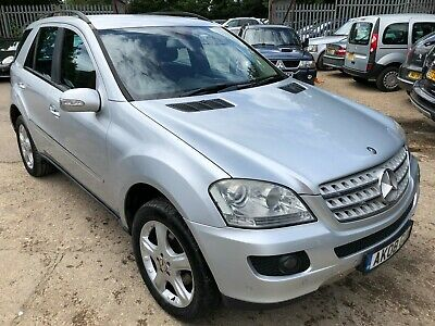 2008 Mercedes-Benz Ml280 3.0 Cdi Sport - Satnav, P/Sens, Alloys, 1/2 Leather