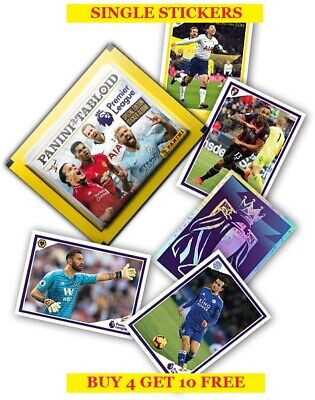 Panini Premier League Tabloid Single Stickers 1-120 (2019) Buy 4 Get 10 Free