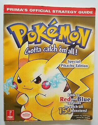 Prima's Official Strategy Guides: Pokemon Yellow. Free Shipping. Nintendo