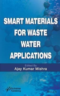 Mishra-Smart Materials For Wastewater (UK IMPORT) BOOKH NEW