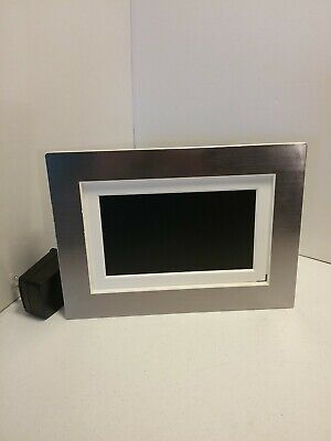"Shomi Digital Photo Picture Frame 6"" digital player tested and works"
