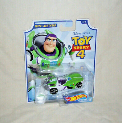 2//8 Toy Story 4 Character Cars HOT WHEELS DIECAST Buzz Lightyear