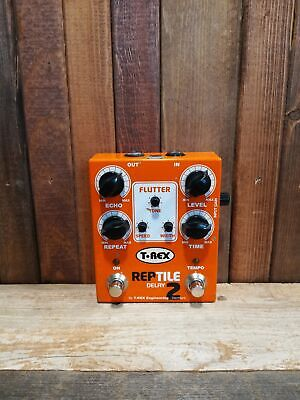 T-Rex Engineering Reptile 2 Tape-style Digital Delay Tap Tempo Guitar Pedal