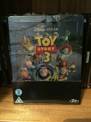Toy Story 3 - Disney Pixar - UK Zavvi Steelbook - Blu-ray - New & Sealed