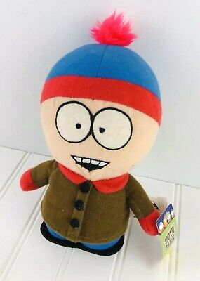 "South Park 8"" Stan Plush Stuffed Animal Toy Comedy Central Nanco  2008 Collect"