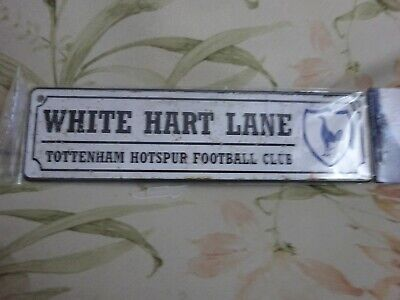 Tottenham Hotspur FC Official Retro metal Window Sign - Free uk Postage