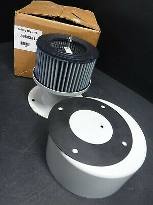 "New Solberg MFG 3968331-1 Air Filter/Breather Assembly w/ 8"" SMI Filter M11"