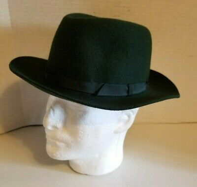 6d6a46ad VINTAGE LL BEAN Stetson Moose River Hat- Size 7-R Silverbelly color ...