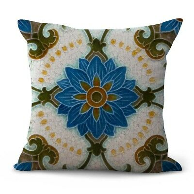 US SELLER- Art Nouveau flower cushion cover decorative pillow cover