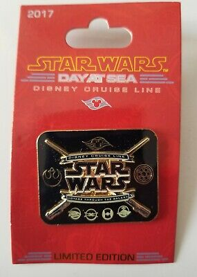 2017 Disney Cruise Line Star Wars Day at Sea Limited Edition Pin. 2500. Black
